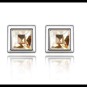 Swarovski Crystal Earrings Silver 925